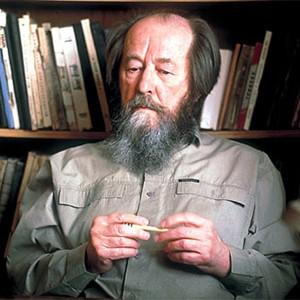 Photograph of Aleksandr Solzhenitsyn