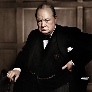 Photograph of Winston Churchill