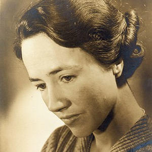Photograph of Anne Morrow Lindbergh