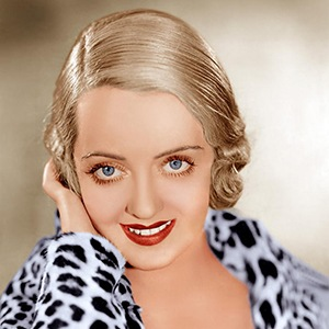 Photograph of Bette Davis