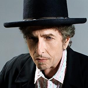 Photograph of Bob Dylan