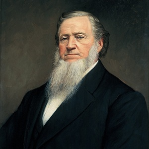 Photograph of Brigham Young