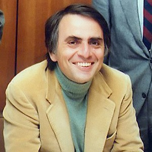 Photograph of Carl Sagan