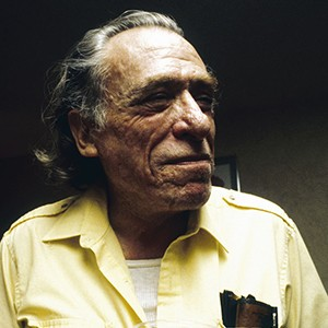 Photograph of Charles Bukowski