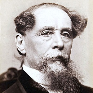 Photograph of Charles Dickens