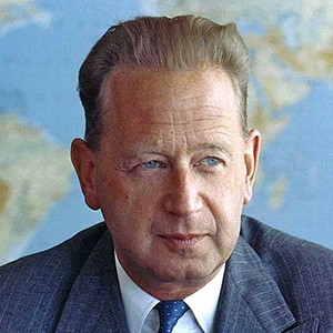Photograph of Dag Hammarskjöld