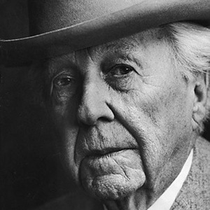 Photograph of Frank Lloyd Wright