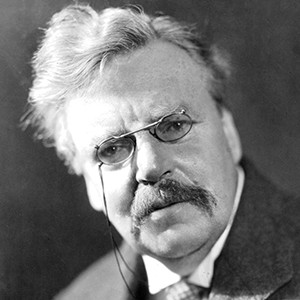 Photograph of G. K. Chesterton