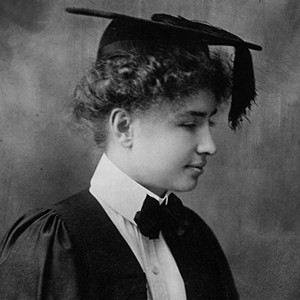Photograph of Helen Keller