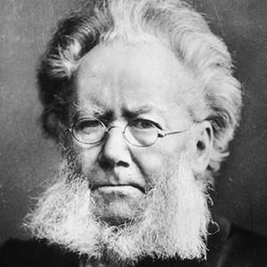 Photograph of Henrik Ibsen