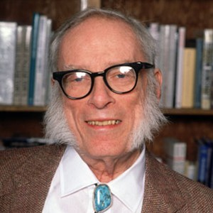 Photograph of Isaac Asimov