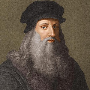 Photograph of Leonardo da Vinci