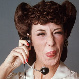 Photograph of Lily Tomlin