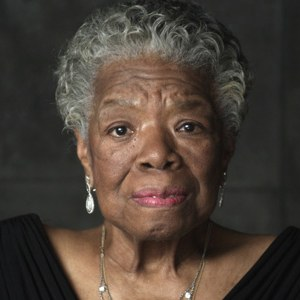 Photograph of Maya Angelou
