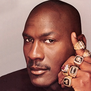 Photograph of Michael Jordan