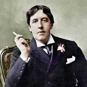 Photograph of Oscar Wilde