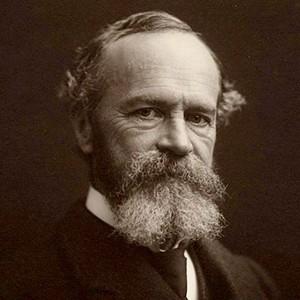 Photograph of William James