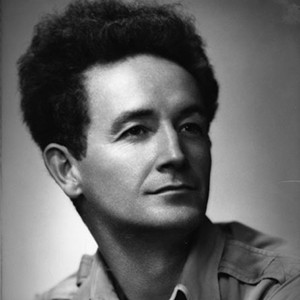 Photograph of Woody Guthrie