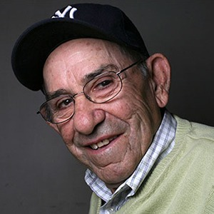 Photograph of Yogi Berra