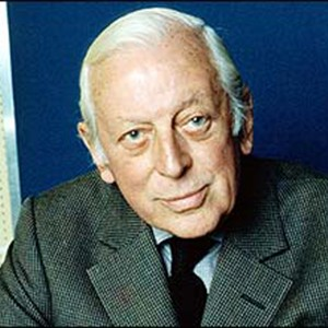 Photograph of Alistair Cooke.