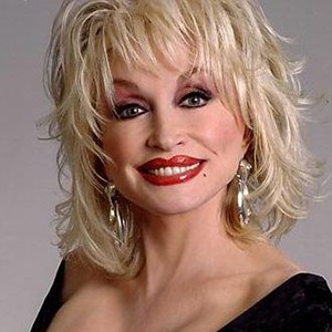 Photograph of Dolly Parton.