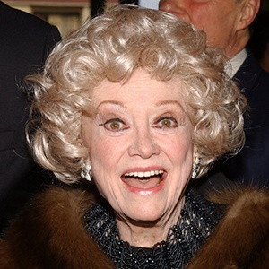 Photograph of Phyllis Diller.
