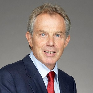 Photograph of Tony Blair.