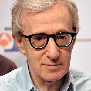 Photograph of Woody Allen.