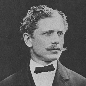 Photograph of Ambrose Bierce.