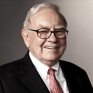 Photograph of Warren Buffett.