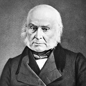 Photograph of John Quincy Adams.