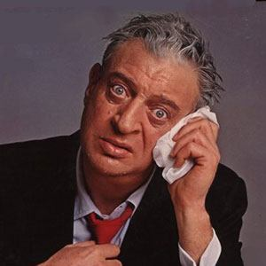 Photograph of Rodney Dangerfield.