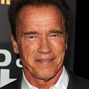 Photograph of Arnold Schwarzenegger.