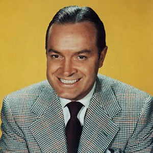 Photograph of Bob Hope.