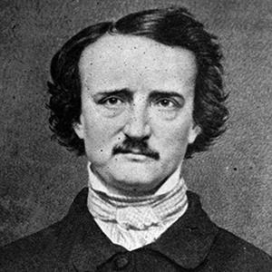 Photograph of Edgar Allan Poe.