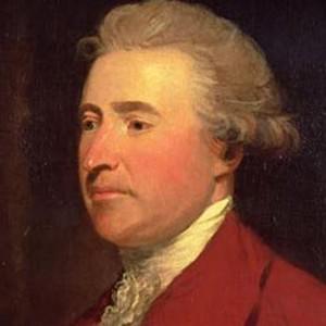 Photograph of Edmund Burke.