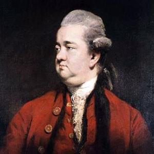 Photograph of Edward Gibbon.