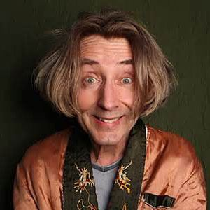 Photograph of Emo Philips.