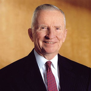 Photograph of H. Ross Perot.