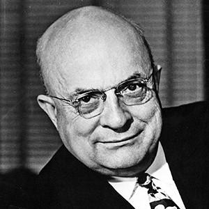 A photograph of Henry J. Kaiser.