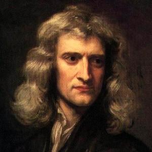 Photograph of Isaac Newton.