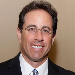 Photograph of Jerry Seinfeld.