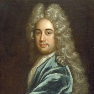 A photograph of Joseph Addison.