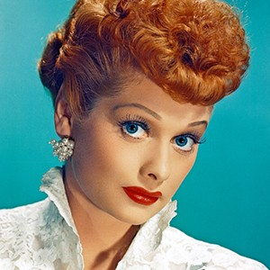 Photograph of Lucille Ball.