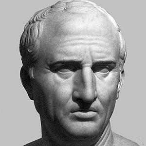 Photograph of Marcus Tullius Cicero.
