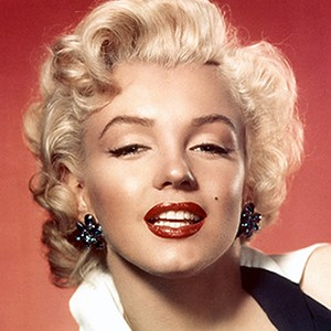 Photograph of Marilyn Monroe.