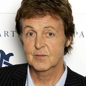 A photograph of Paul McCartney.