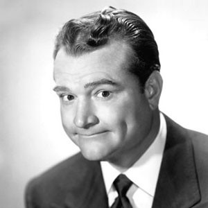 Photograph of Red Skelton.