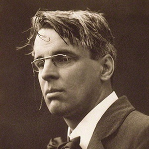 Photograph of William Butler Yeats.