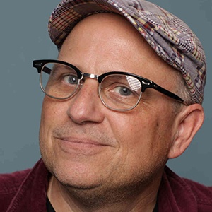 A photograph of Bobcat Goldthwait.